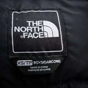 The North Face Jackets & Coats - Boy's North Face Gotham coat XS/TP black with hood